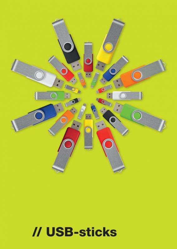USB-sticks bedrukken